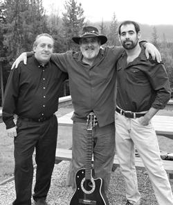 Bryan Lloyd, Ron Lloyd, and MacArthur Lloyd